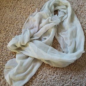 Sheer scarf
